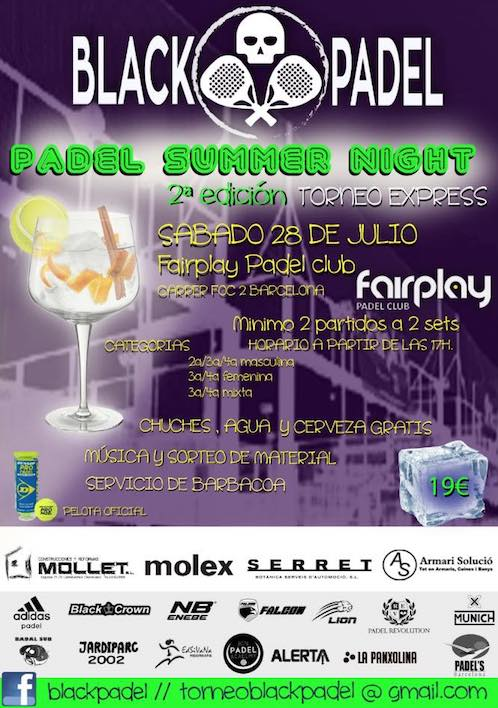 Padel Summer Night Fairplay