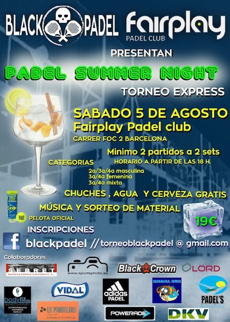 Padel Summer Night