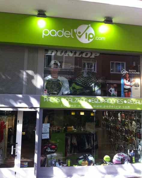 PadelVip inaugura su primera tienda en Madrid