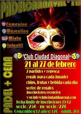 Padel Carnaval Ciudad Diagonal