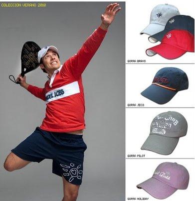 Padel Lobb presenta su nueva coleccion de gorras PRIMAVERA-VERANO 2010