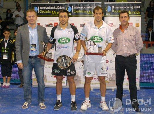 Padel Pro Tour Murcia lo ganan Belasteguin-Diaz