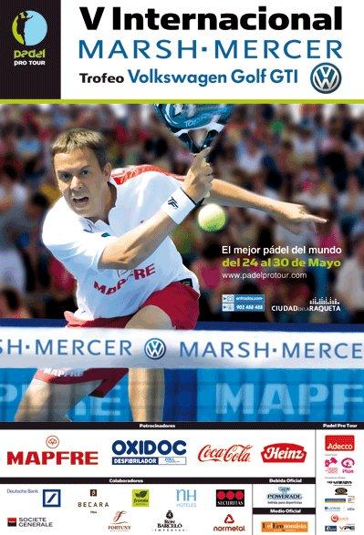 Padel Pro Tour V Internacional de padel Marsh-Mercer