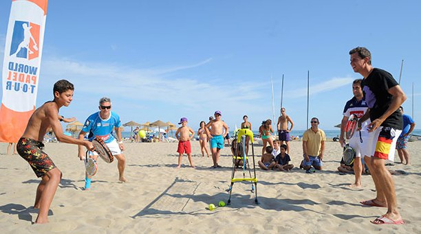 Padel y otros deportes de raqueta