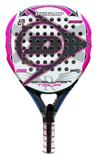 Pala de padel Dunlop Revolution Tour 20 Pink 2016
