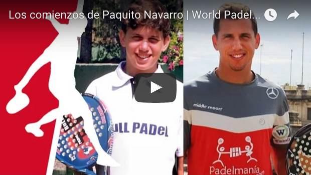 Paquito Navarro inicios padel