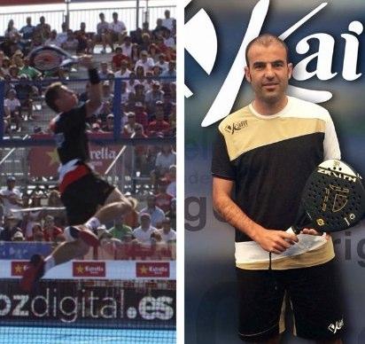 Paquito Navarro Willy Lahoz en el campeonato de España de pádel
