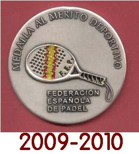 Premios nacionales de pádel 2009-2010