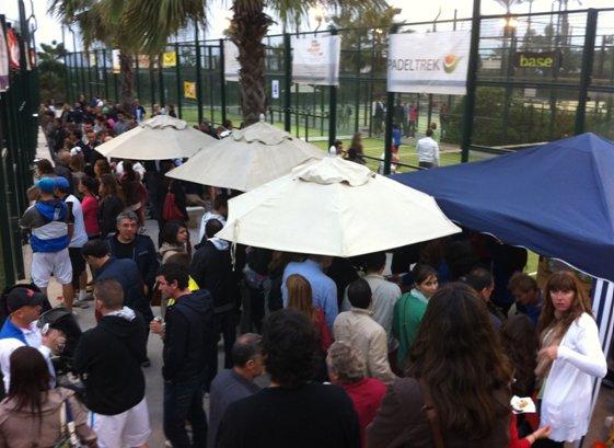 Presentacion del Circuito Padeltrek 2011-2012 en el Real Club de Polo