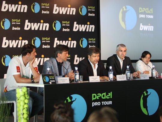 Presentacion del circuito bwin Padel Pro Tour