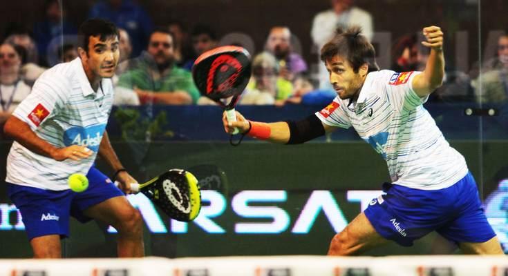 Fernando Belasteguín y Pablo Lima Río Gallegos Argentina Open