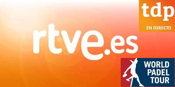 RTVE.es Teledeporte retransmitiran padel directo