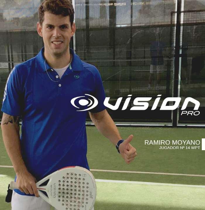 Ramiro Moyano ficha por Vision