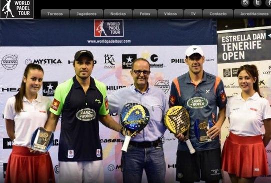 Resultado el world Padel tour de Tenerife