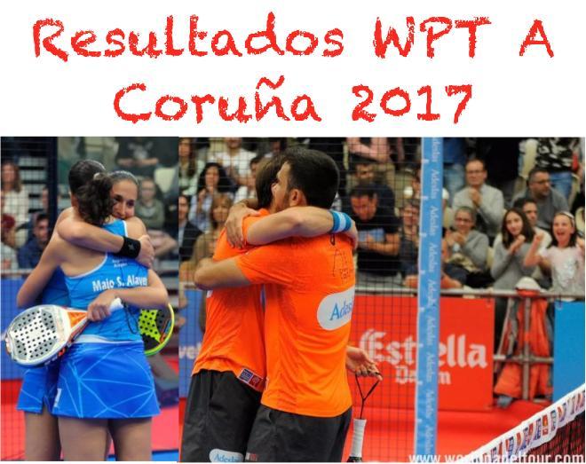 Resultados del WPT de A Coruna