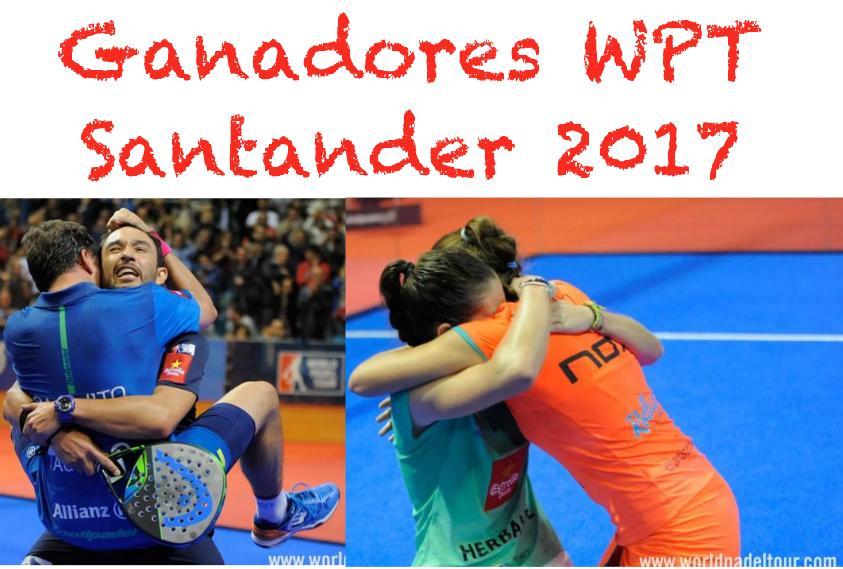 Ganadores WPT de Santander
