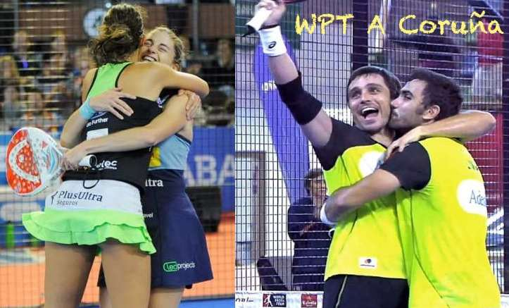 Ganadores de lWorld Pádel Tou A Coruña 2016