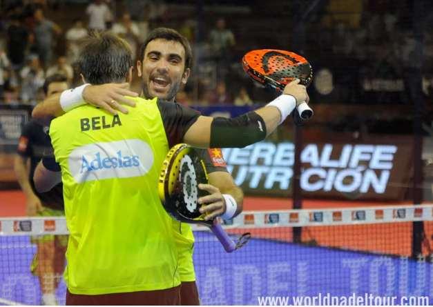 Fernando Belasteguín y Pablo Lima en WPT Sevilla