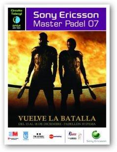 Resultados del Master pádel Pro Tour 2010