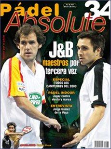 Revista padel absolute numero 34