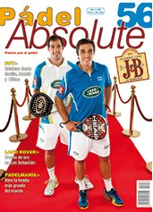 Revista padel absolute número 56