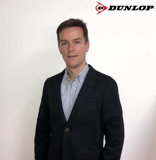 Richard Jackson nombrado General Manager de Dunlop