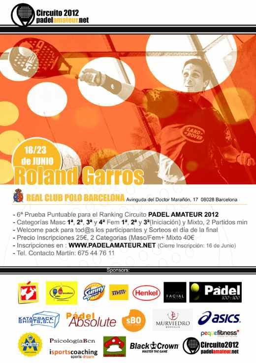 Roland Garros de Padel en el Real Club de Polo de Barcelona