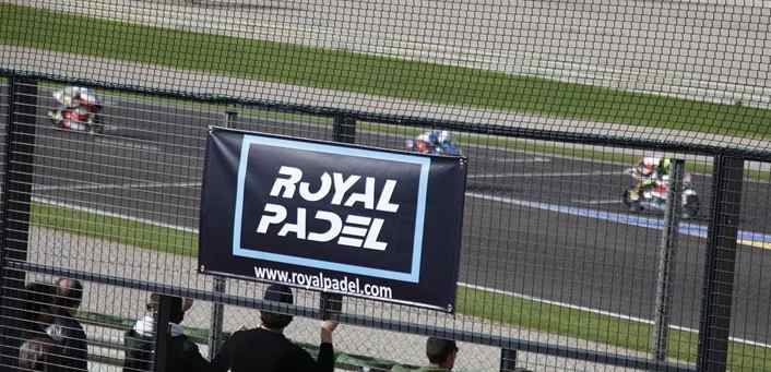 Royal Padel en MotoGP