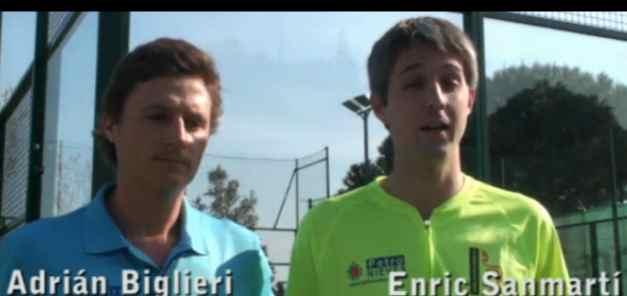 Sanmarti y Biglieri, campeones de Catalunya de padel, nos acercan el Mundial