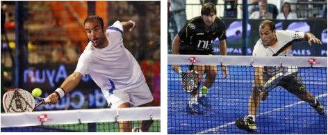 Semifinales del Padel pro tour Ciudad Real sin las parejas 1 y 2