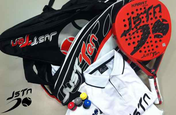 Sport sortea 2 packs completos Just Ten Padel