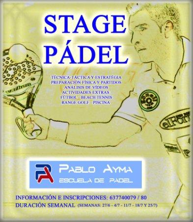 Stage de pádel Club Ciudad Diagonal