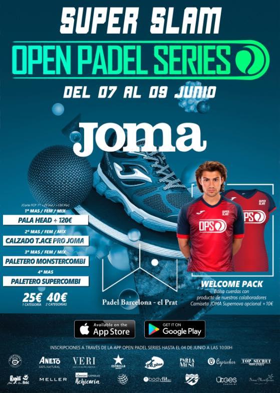 Super Slam JOMA OPS Padel Barcelona - El Prat