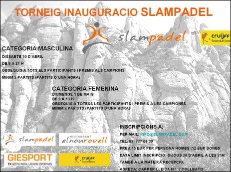 Torneig_inauguracio_Slampadel