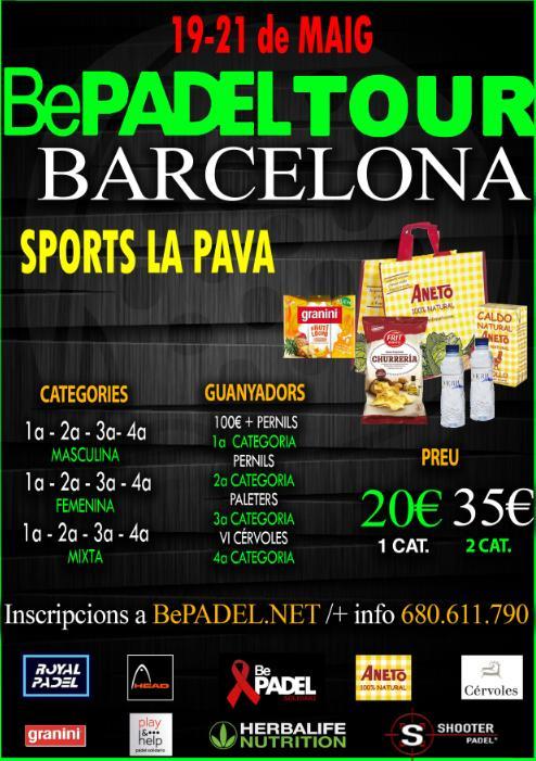 Torneo BePadel Tour en Sports La Pava