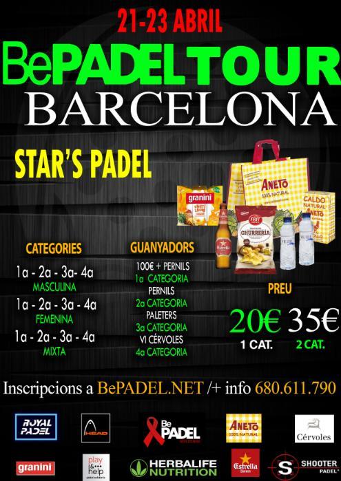 Torneo BePadel tour en el Stars Padel