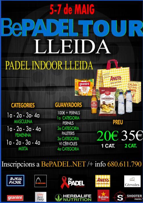 Torneo Bepadel Tour Lleida Mayo 2017