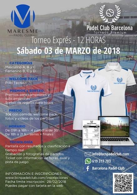 Torneo Express 12 horas