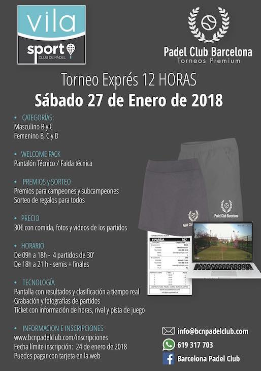 Torneo Express en el Club Vila Sport