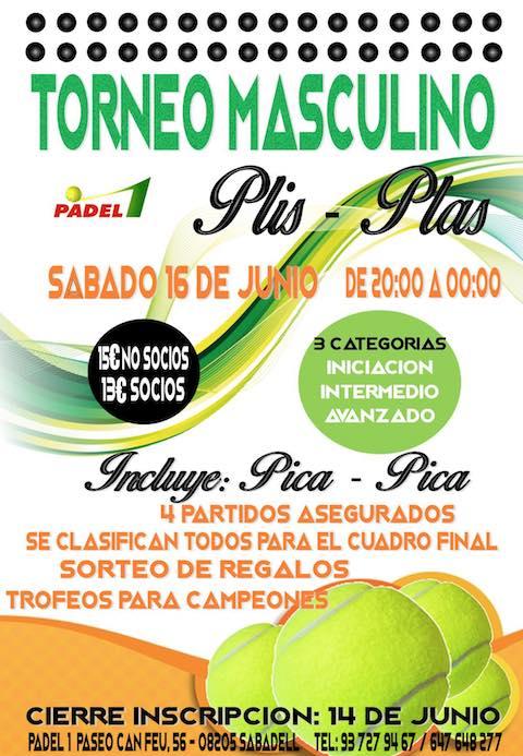 Torneo Masculino Padel1