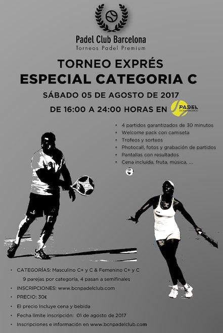 Torneo Padel Express Agosto Padel Ocata-Masnou