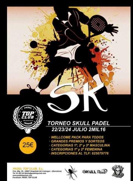 Torneo Skull Padel