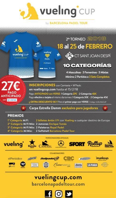Torneo Vueling en St Joan d'Espi