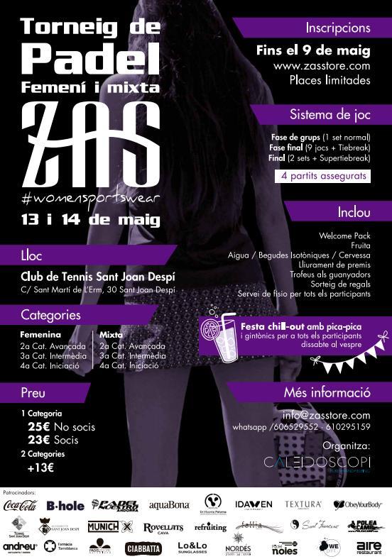 Torneo Zas Open Padel