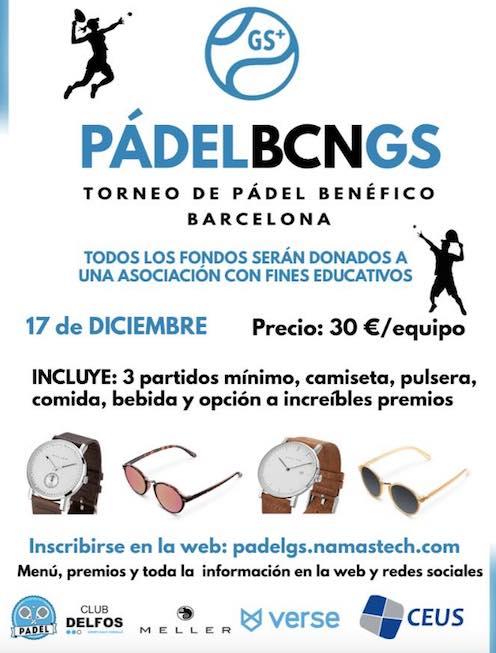 Torneo de Padel Benéfico Barcelona