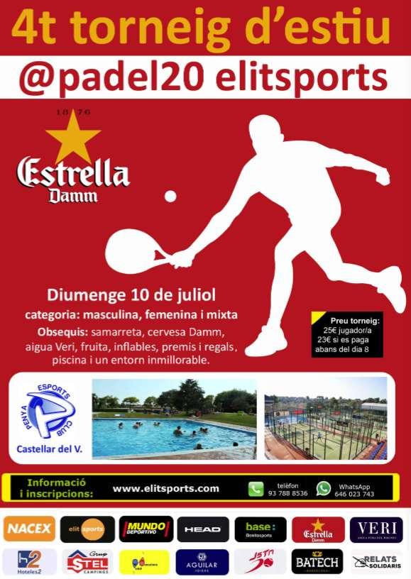 Torneo de verano @padel20 elisports