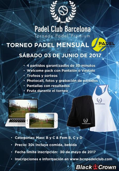 Torneo mensual en Padel Club Ocata - Masnou