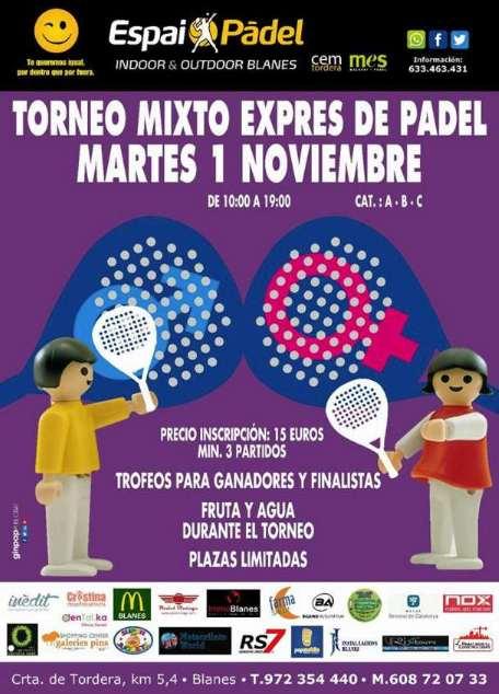 Torneo mixto Express Espai Padel