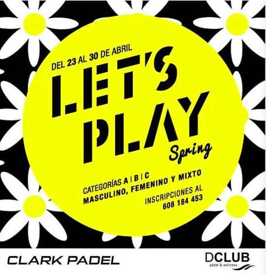 Torneo padel Let's Play Spring