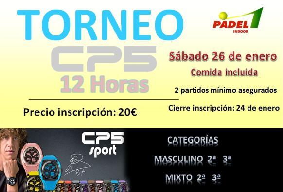 Torneo 12 horas CP5 en el Padel 1 de Sabadell
